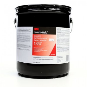 3M™ 1357L Neoprene High Performance Contact Adhesive 1357 (5GL)